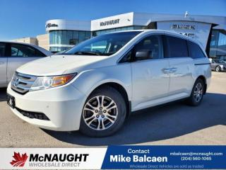 Used 2013 Honda Odyssey EX-L for sale in Winnipeg, MB