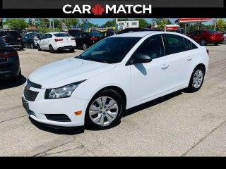 Used 2013 Chevrolet Cruze LS / AC / 6-SPEED / 104560 KM for sale in Cambridge, ON