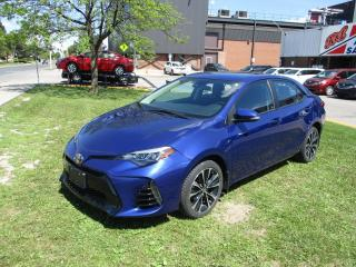 Used 2017 Toyota Corolla SE ~ LOW KM ~ SUNROOF ~ BACKUP CAM for sale in Toronto, ON