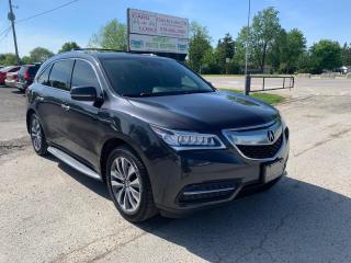Used 2016 Acura MDX Nav Pkg for sale in Komoka, ON