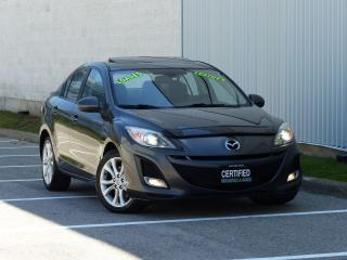 Used 2011 Mazda MAZDA3 LEATHER,GT,FULLY LOADED,NO-ACCIDENT,NEW TIRE+BRAKE for sale in Mississauga, ON