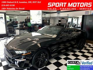 Used 2019 Ford Mustang Ecoboost+GPS+Convertible+Cooled Seats+Camera+310HP for sale in London, ON