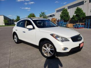 Used 2010 Infiniti EX35 Leather, Sunroof, Backup Cam., 3/Y warranty availa for sale in Toronto, ON