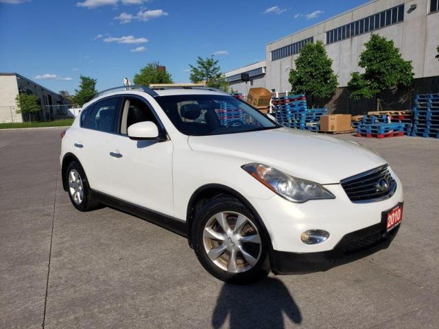 2010 Infiniti EX35 Leather, Sunroof, Backup Cam., 3/Y warranty availa
