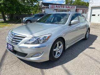 Used 2013 Hyundai Genesis 1 Owner/Accident Free/Navi/BT/BckupCam/Certified for sale in Scarborough, ON