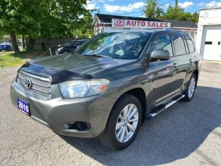 Used 2010 Toyota Highlander Hybrid/7 Passenger/AWD/Automatic/Certified for sale in Scarborough, ON