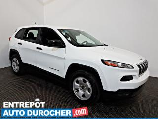Used 2014 Jeep Cherokee Sport AWD A/C - Sièges et Volant Chauffants for sale in Laval, QC