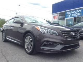 Used 2015 Hyundai Sonata Sport - Local Trade - Backup Cam - Pano Roof for sale in Cornwall, ON
