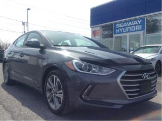 Used 2017 Hyundai Elantra GLS - Apple Car Play - 3 Month Payment Deferral for sale in Cornwall, ON