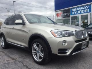 Used 2017 BMW X3 AWD 4dr xDrive35i - Navigation - Bluetooth for sale in Cornwall, ON