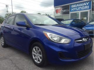 Used 2012 Hyundai Accent 5dr HB Man GL - Local Trade - Air for sale in Cornwall, ON