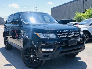 Used 2016 Land Rover Range Rover Sport |DIESEL|HUD|PANORAMIC|AIR SUSPENSION|BIRD EYE VIEW|NAVI! for sale in Brampton, ON