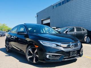 Used 2018 Honda Civic Sedan |TOURING|NAVIGATION|LANE ASSIST|ADAPTIVE CRUISE|SUNROOF! for sale in Brampton, ON