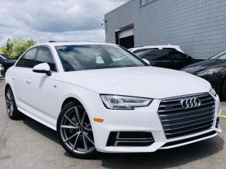 Used 2017 Audi A4 |QUATTRO|S LINE|SUN ROOF|NAVI|HEATED MEMORY SEATS|REAR VIEW! for sale in Brampton, ON