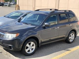 Used 2010 Subaru Forester 5dr Wgn Auto 2.5X *Ltd Avail* for sale in Brampton, ON