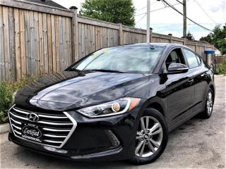Used 2017 Hyundai Elantra GL-CAMERA-BLINDSPOT-HEATED STEERING/SEATS-APPLE CARPLAY-60KM for sale in Toronto, ON