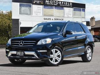 Used 2013 Mercedes-Benz ML-Class ML350 BlueTEC 4MATIC Diesel *NAVI | CAMERA | PANO ROOF* for sale in Scarborough, ON