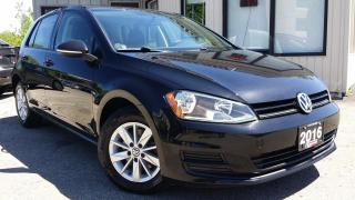 Used 2016 Volkswagen Golf TSI TRENDLINE BACK-UP CAM! HEATED SEATS! ALLOYS! for sale in Kitchener, ON