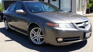 Used 2007 Acura TL 5-Speed AT - LEATHER! SUNROOF! ONE OWNER! for sale in Kitchener, ON
