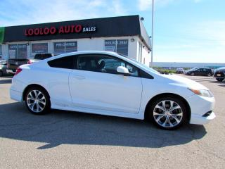 Used 2012 Honda Civic Si Coupe 6-Speed Manual Navigation Camera Certified for sale in Milton, ON