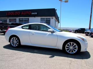 Used 2012 Infiniti G Coupe G37x AWD NO ACCIDENT CAMERA BLUETOOTH CERTIFIED for sale in Milton, ON