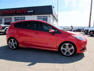 Used 2015 Ford Fiesta ST Hatchback TURBO 6 SPEED BLUETOOTH CERTIFIED for sale in Milton, ON