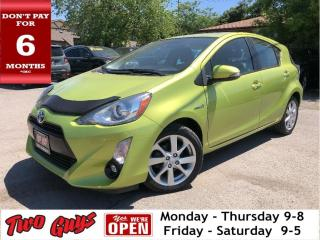 Used 2016 Toyota Prius c Technology   New Tires   Nav   Sunroof   Local Tra for sale in St Catharines, ON