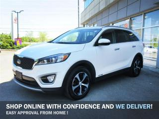 Used 2017 Kia Sorento 3.3L EX 7 seater/One Owner lease return with NO Accidents /Leather/Camera/Blind Spot/Android Auto Apple Car Play for sale in Mississauga, ON