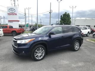 Used 2016 Toyota Highlander AWD 4DR XLE for sale in St-Hubert, QC