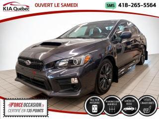 Used 2018 Subaru WRX AWD* CAMERA* SIEGES CHAUFFANTS* for sale in Québec, QC
