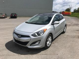 Used 2013 Hyundai Elantra GT Voiture à hayon, 5 p, boîte man GLS *Dis for sale in Quebec, QC