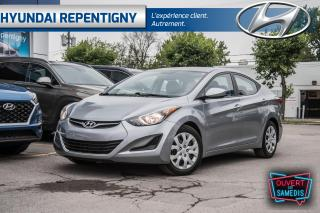 Used 2015 Hyundai Elantra GL 4 PORTES**A/C, GROUPE ELECTRIQUE** for sale in Repentigny, QC