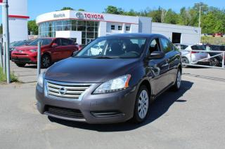 Used 2014 Nissan Sentra Berline 4 portes, boîte manuelle, S for sale in Shawinigan, QC