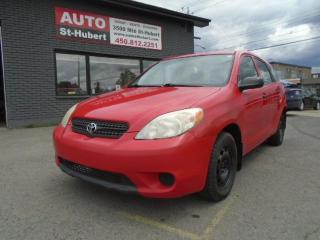 Used 2007 Toyota Matrix for sale in St-Hubert, QC