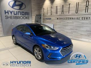 Used 2017 Hyundai Elantra GLS+CAMERA+TOIT+BANCS CHAUF+ANDROID AUTO for sale in Sherbrooke, QC