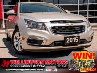 Used 2015 Chevrolet Cruze 1LT | Remote Start | Winter Tires On Rims !! for sale in Guelph, ON
