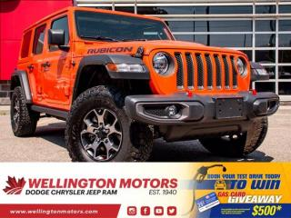 Used 2019 Jeep Wrangler Unlimited Rubicon | 1 Owner | 6 Spd Manual !! for sale in Guelph, ON