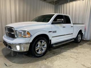 Used 2015 RAM 1500 TURBO DIESEL 4x4 Big Horn 4dr Quad Cab for sale in Sherbrooke, QC