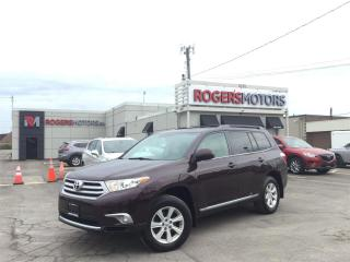 Used 2013 Toyota Highlander 4WD - 7 PASS - REVERSE CAM - BLUETOOTH for sale in Oakville, ON