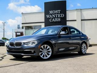 Used 2017 BMW 330xi xDrive |NAVIGATION|CAMERA|MOCHA LEATHER for sale in Kitchener, ON