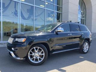 Used 2015 Jeep Grand Cherokee SUMMIT V6 TOIT for sale in Ste-Agathe-des-Monts, QC