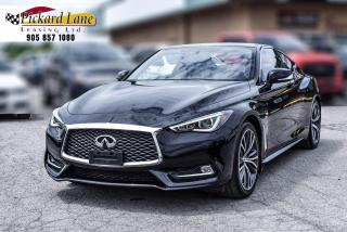 Used 2017 Infiniti Q60 2.0T NAVI|SUNROOF|REVRESE CAMERA| LOADED| CERTIFIED for sale in Bolton, ON