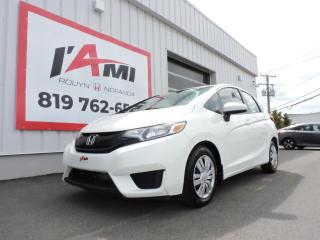 Used 2015 Honda Fit 5DR HB MAN LX for sale in Rouyn-Noranda, QC