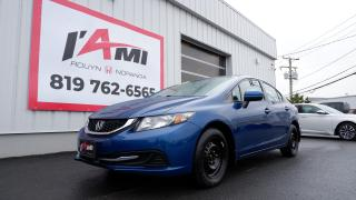 Used 2015 Honda Civic 4dr Auto LX for sale in Rouyn-Noranda, QC