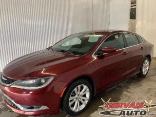 Used 2015 Chrysler 200 Limited V6 3.6 Bluetooth Mags for sale in Trois-Rivières, QC