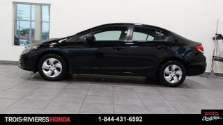 Used 2015 Honda Civic LX + CAMÉRA DE RECUL + BLUETOOTH ! for sale in Trois-Rivières, QC