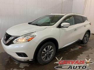 Used 2016 Nissan Murano SL AWD Mags Cuir GPS Toit panoramique for sale in Trois-Rivières, QC