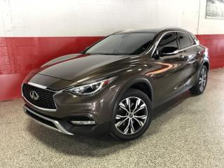Used 2017 Infiniti QX30 AWD NAVI REAR CAMERA PUSH START BOSE SOUND PADDLE SHIFTERS for sale in North York, ON