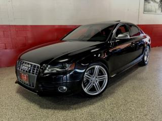 Used 2011 Audi S4 NAVI CAMERA PADDLE SHIFTERS BLIND SPOT LOCAL CLEAN CARFAX for sale in North York, ON