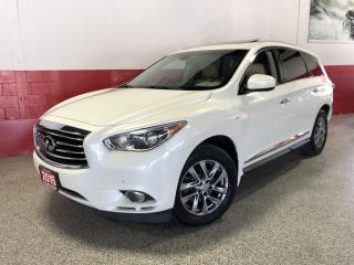 Used 2015 Infiniti QX60 AWD SUNROOF 7 SEATER 360 CAMERA BLUETOOTH for sale in North York, ON